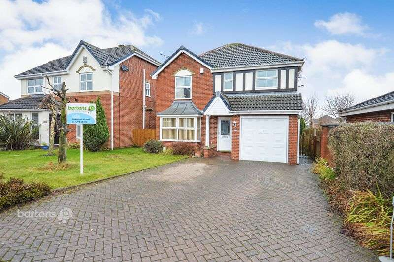 4 Bedrooms Detached House for sale in Viewlands Close, Bramley, Rotherham
