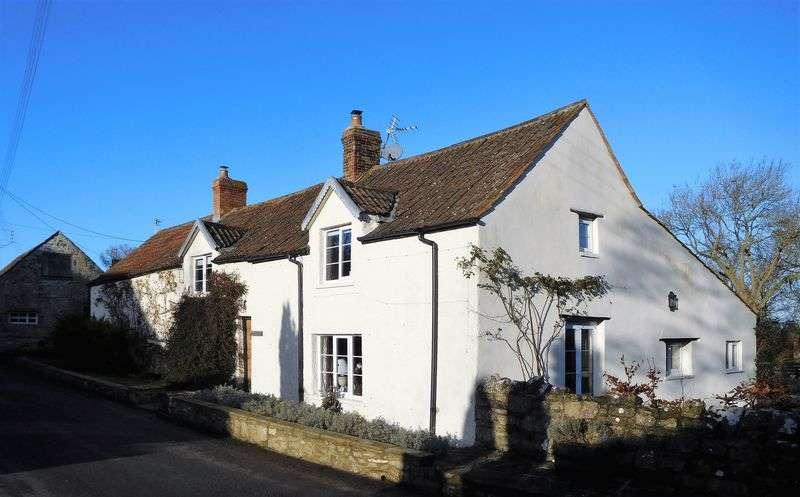 4 Bedrooms Detached House for sale in Framptons, Manor Road, Catcott (Between Wedmore and Wells)
