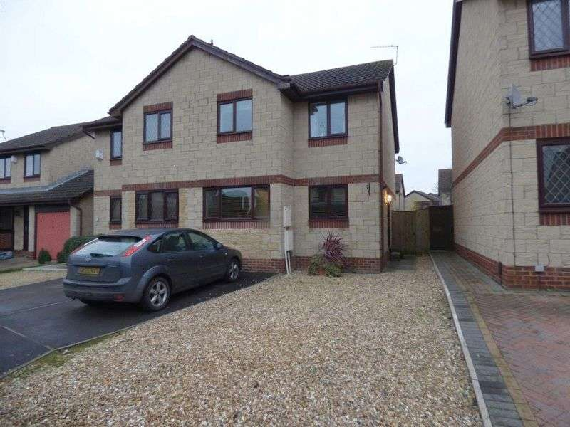 3 Bedrooms Semi Detached House for sale in Brandon Close, Gloucester