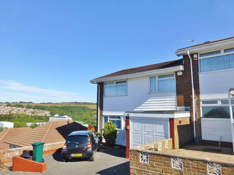 5 Bedrooms Semi Detached House for rent in Canfield Close, Brighton