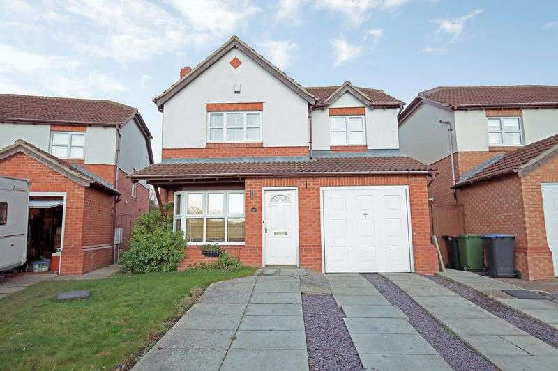 4 Bedrooms Detached House for sale in Hutton Close, Stockton-On-Tees,Durham, TS21