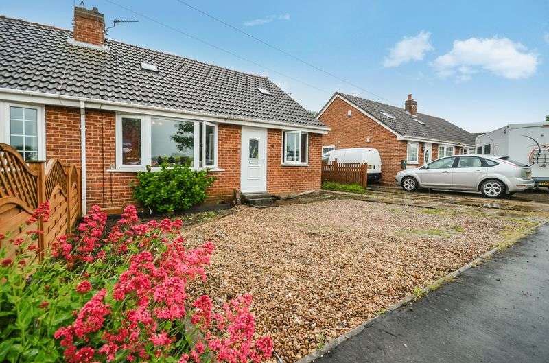 2 Bedrooms Semi Detached House for sale in 17 Prince Rupert Drive, Tockwith, York, YO26 7QS