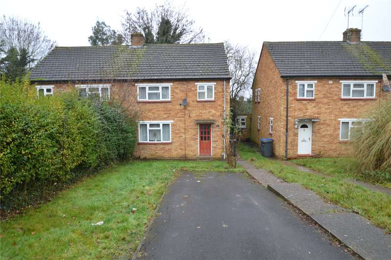 3 Bedrooms Semi Detached House for sale in Badger Close, Maidenhead, Berkshire, SL6