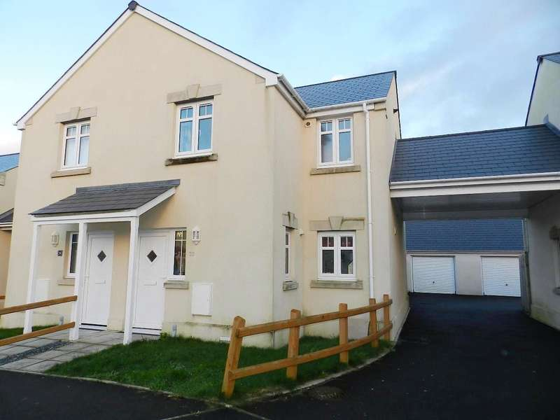 2 Bedrooms Semi Detached House for sale in Moors Road, Johnston, Haverfordwest