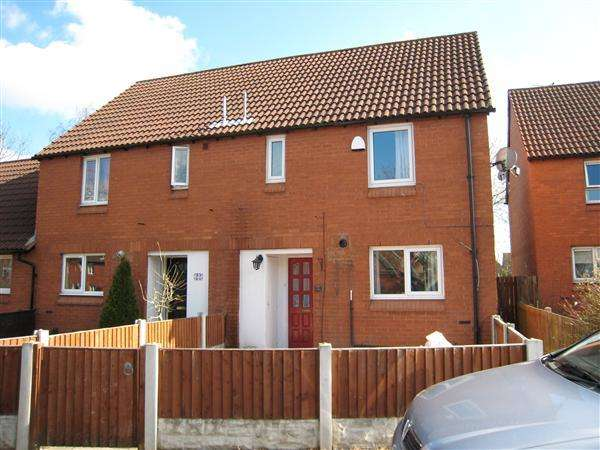 2 Bedrooms Semi Detached House for sale in Blackledge Close, Warrington