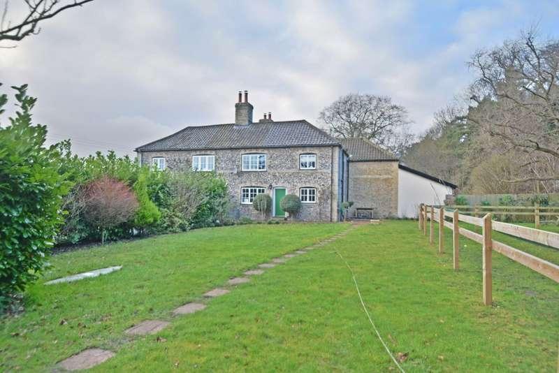 2 Bedrooms Cottage House for sale in Stud Cottages, Riddlesworth