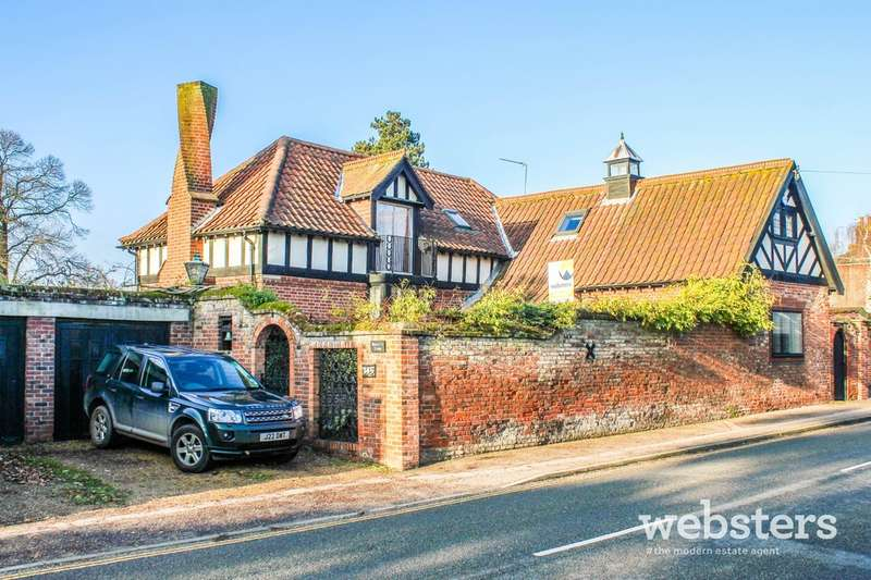 4 Bedrooms Detached House for sale in Spixworth Road, Norwich, NR6