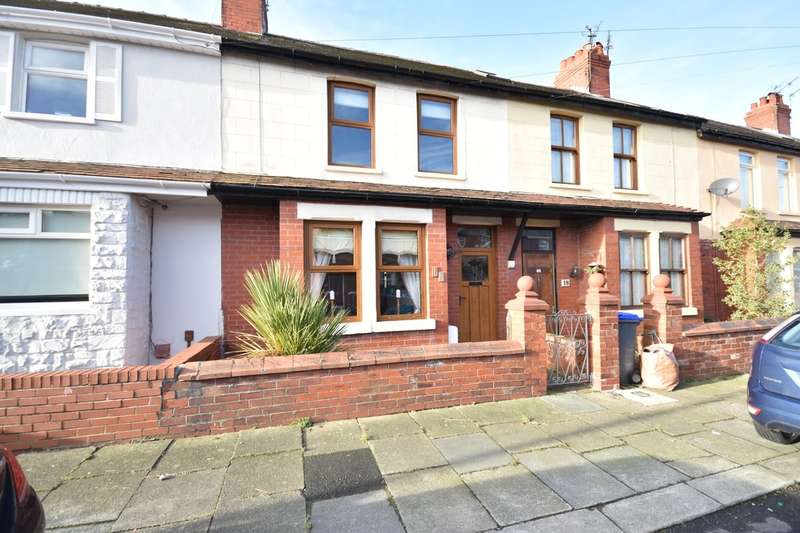 2 Bedrooms Terraced House for sale in Canterbury Avenue, Blackpool