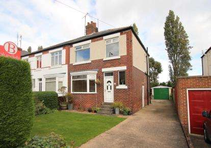 3 Bedrooms Semi Detached House for sale in Hutcliffe Wood Road, Sheffield, South Yorkshire