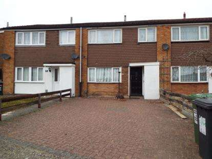 3 Bedrooms Terraced House for sale in Moxes Wood, Luton, Bedfordshire
