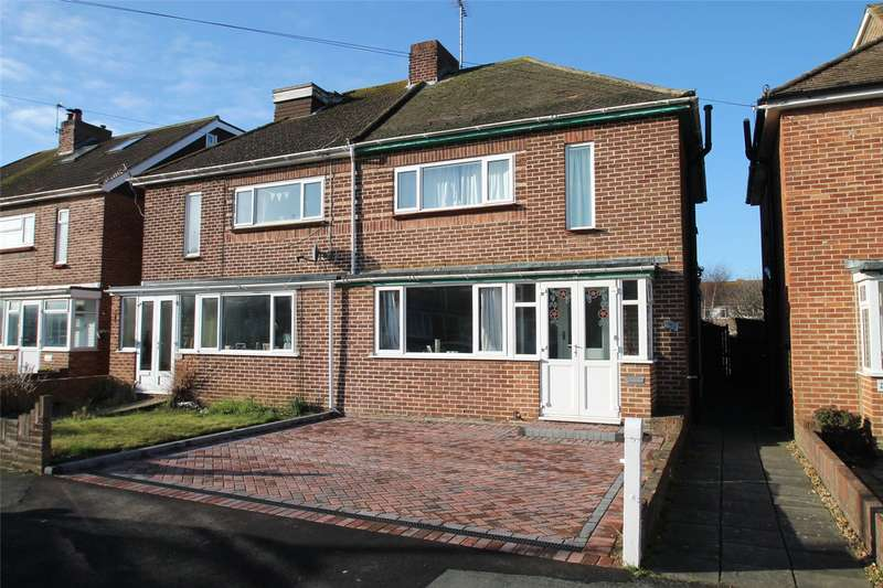 3 Bedrooms Semi Detached House for sale in Jubilee Avenue, Rustington, West Sussex, BN16
