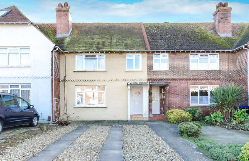 3 Bedrooms Terraced House for sale in Tower Road, Lancing, West Sussex, BN15