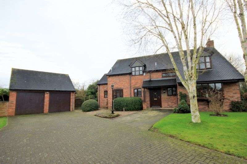 4 Bedrooms Detached House for sale in Bourne Court, Hilderstone