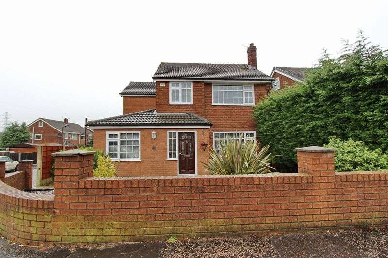 4 Bedrooms Detached House for sale in Sandgate Road, Whitefield, Manchester