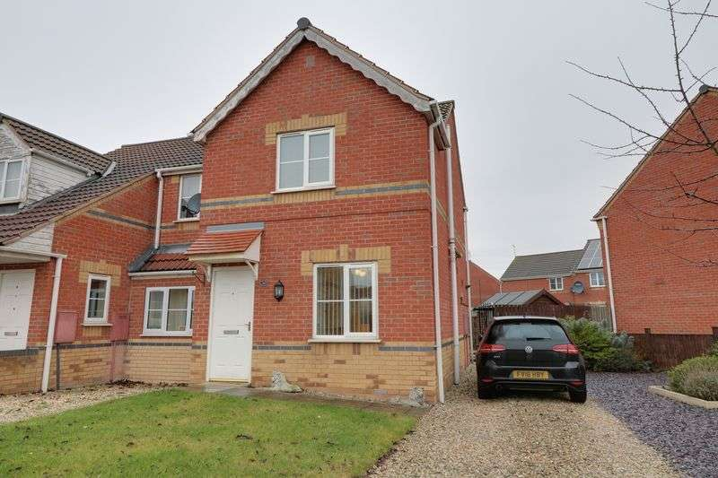 2 Bedrooms Semi Detached House for sale in Granville Road, Scunthorpe