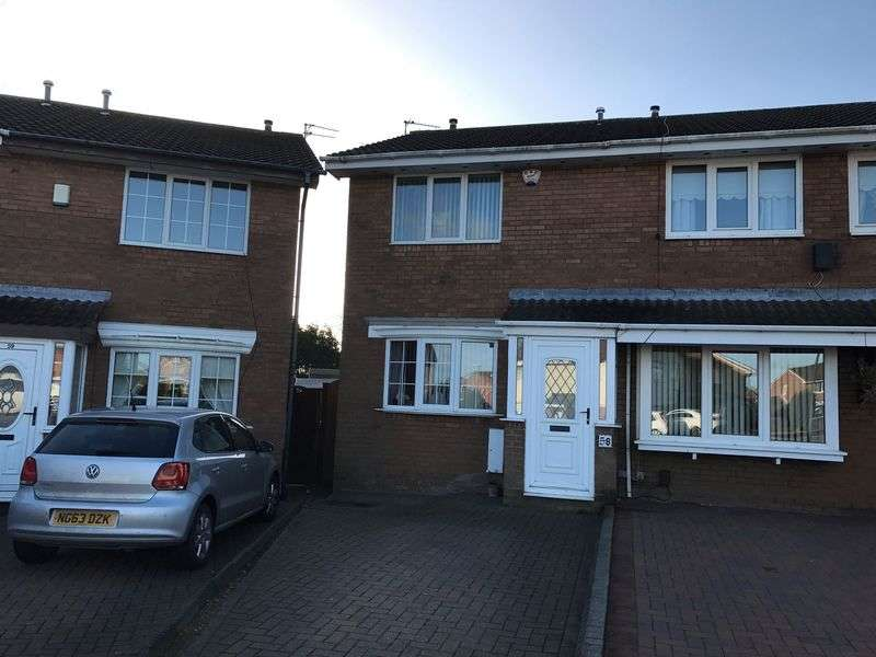 2 Bedrooms Semi Detached House for sale in Westcliffe Way, South Shields