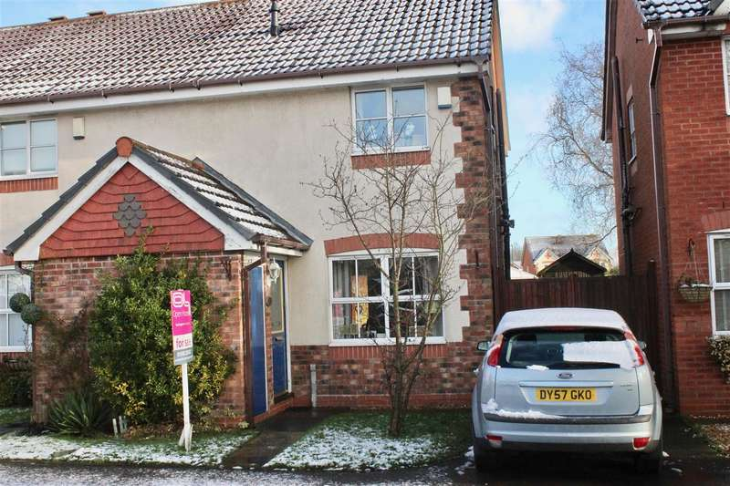 2 Bedrooms Semi Detached House for sale in Dunnerdale Road, Clayhanger
