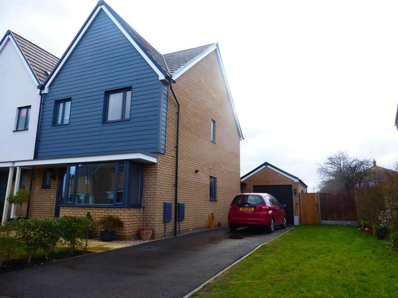 3 Bedrooms Semi Detached House for sale in Folkes Road, Wootton, Bedford, MK43