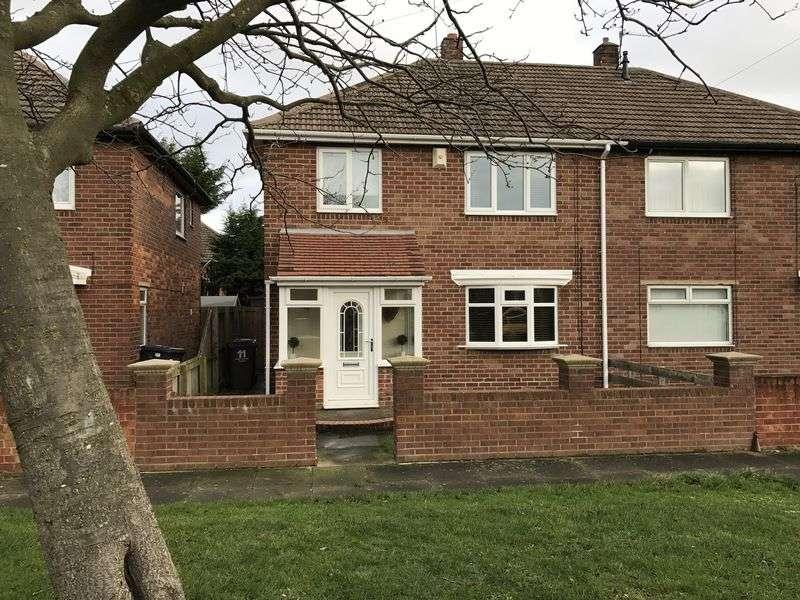 3 Bedrooms Semi Detached House for sale in Somerset Road, Hebburn