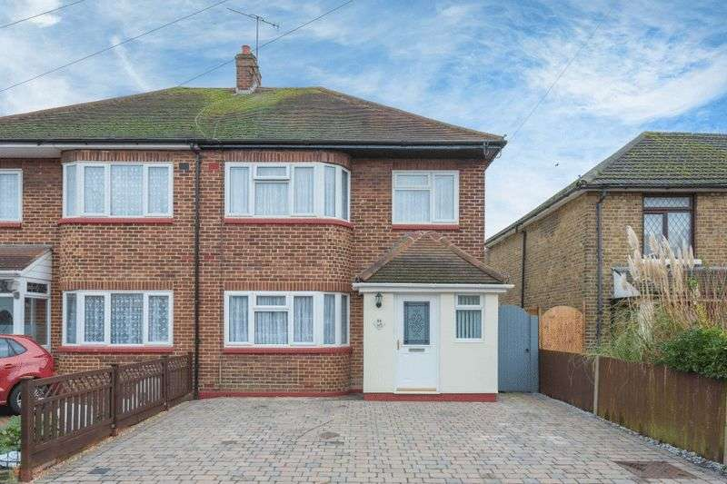 4 Bedrooms Semi Detached House for sale in Newtown Road, New Denham