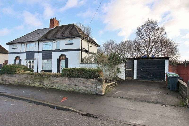 3 Bedrooms Semi Detached House for sale in Churchfields Road, Wednesbury