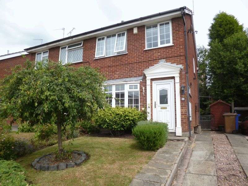 3 Bedrooms Semi Detached House for sale in Harington Drive, Parkhall, Stoke-On-Trent, ST3 5ST