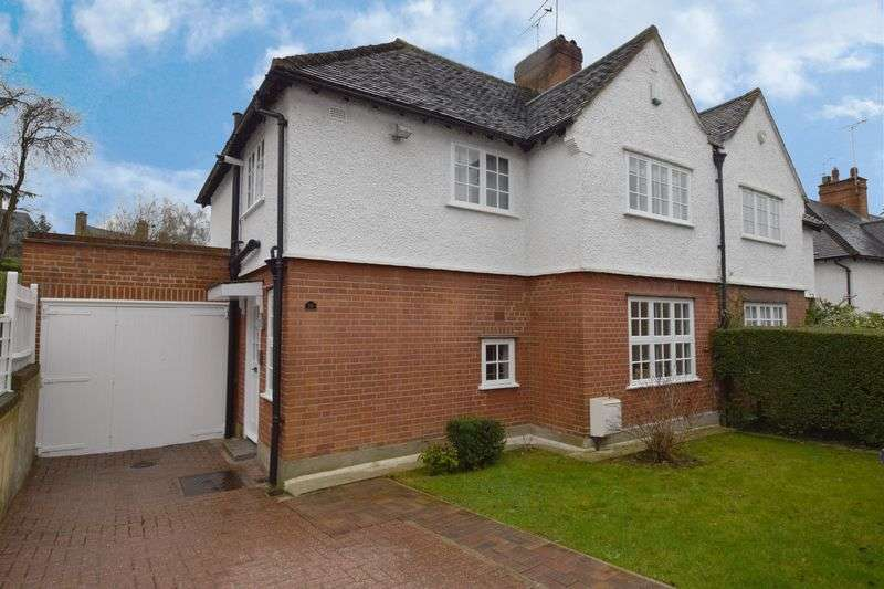 3 Bedrooms Semi Detached House for sale in 16 Brookland Hill, Hampstead Garden Suburb, London NW11