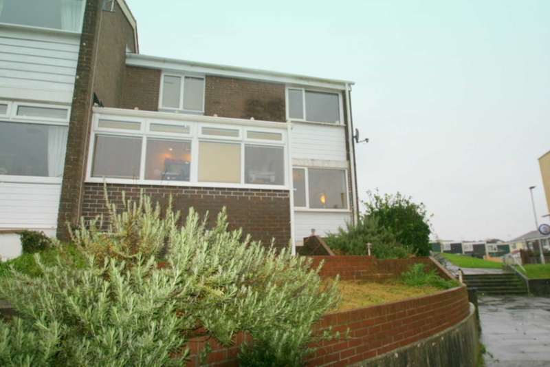 3 Bedrooms End Of Terrace House for sale in Defoe Close, Plymouth