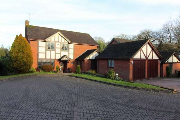 4 Bedrooms Detached House for sale in Poppyfield Court, Gibbet Hill, COVENTRY