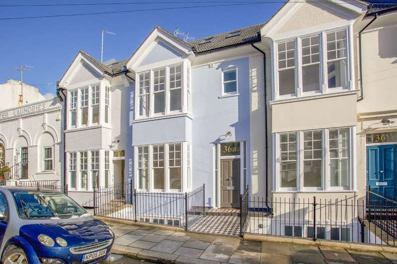 4 Bedrooms Terraced House for sale in Robertson Road, Brighton