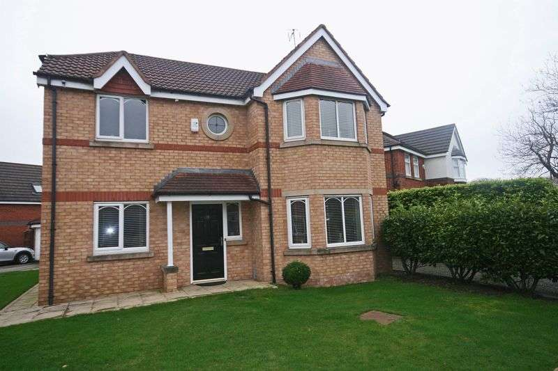4 Bedrooms Detached House for sale in Linderbreck Lane, Poulton-Le-Fylde