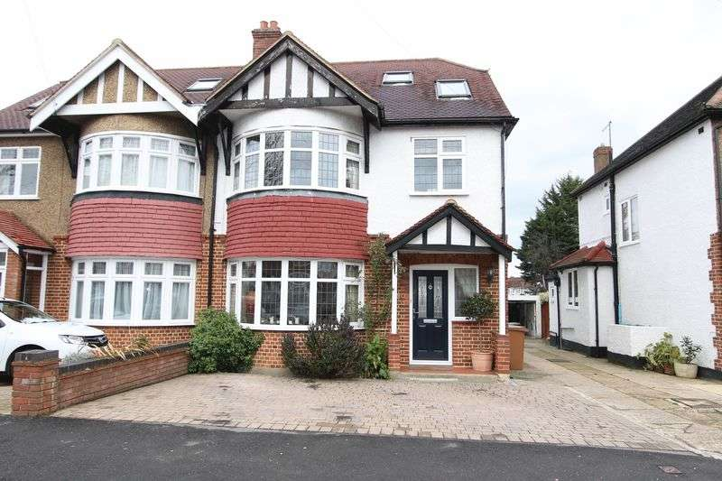 4 Bedrooms Semi Detached House for sale in Wrayfield Road, Cheam