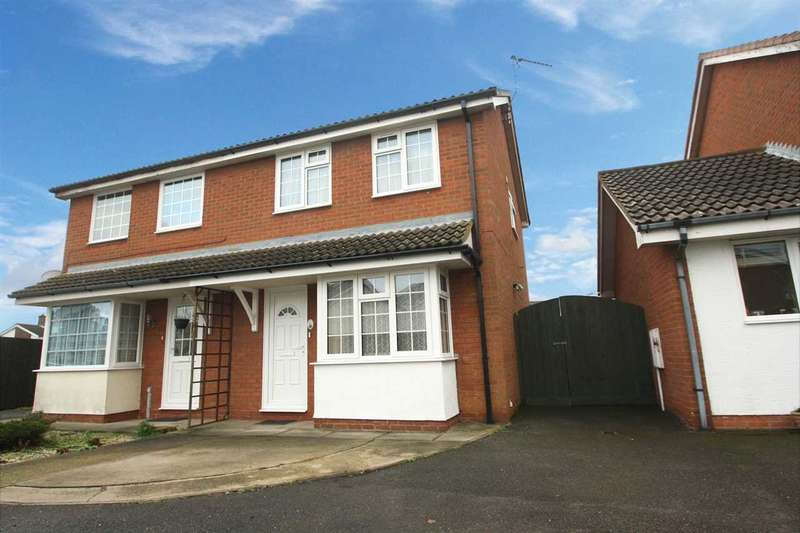 3 Bedrooms Semi Detached House for sale in Lower Harlings, Shotley Gate