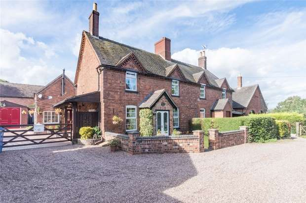 3 Bedrooms Cottage House for sale in Hill Hall Cottages, Old London Road, Lichfield, Staffordshire