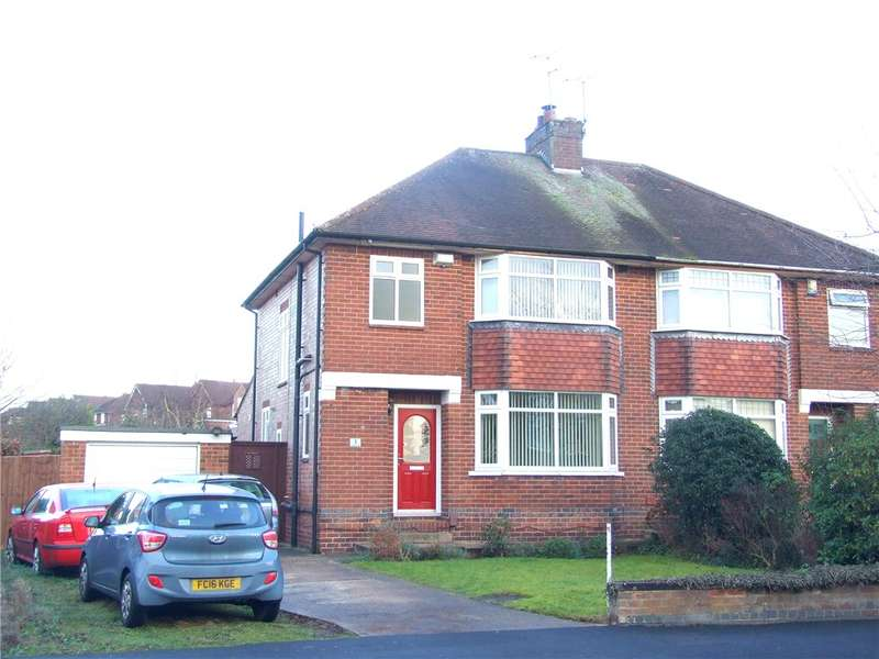 3 Bedrooms Semi Detached House for sale in Amber Road, Allestree, Derby, Derbyshire, DE22