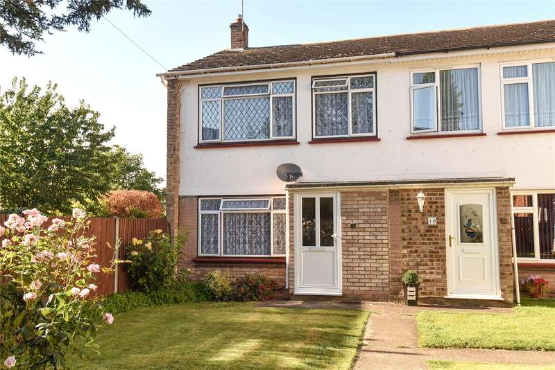 3 Bedrooms Semi Detached House for sale in Singret Place, High Street, Cowley, Uxbridge, UB8