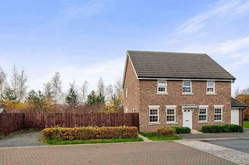 4 Bedrooms Detached House for sale in Richard Walker Close, Bury St Edmunds