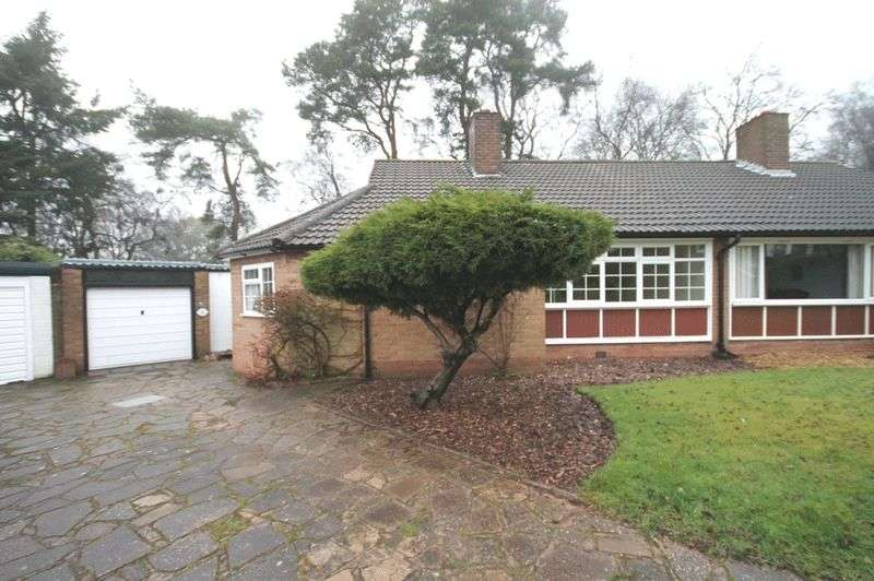 3 Bedrooms Semi Detached Bungalow for sale in Birch Rise, Ashley Heath