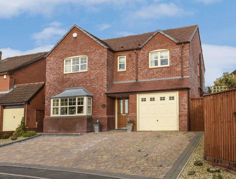 4 Bedrooms Detached House for sale in Barleyfield Rise, Wall Heath