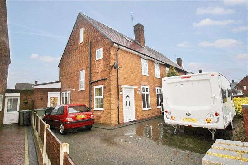 3 Bedrooms Semi Detached House for sale in Morris Avenue, Bentley, Walsall