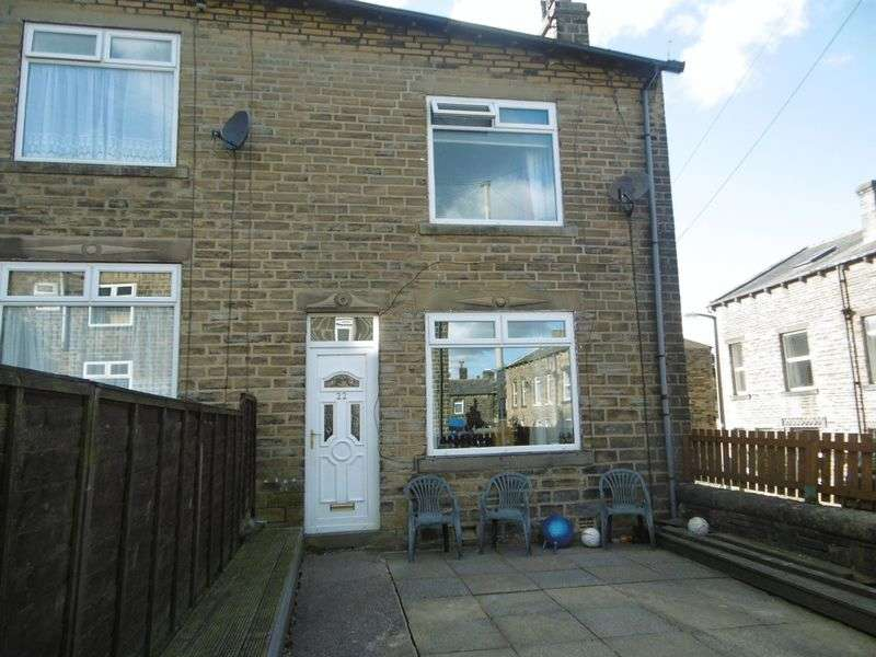 3 Bedrooms Terraced House for sale in Cleveley Gardens, Mytholmroyd