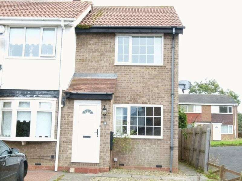2 Bedrooms Terraced House for sale in Lambton Court, Bedlington - Two Bedroom End Link House