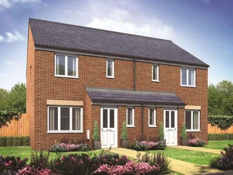 3 Bedrooms Semi Detached House for sale in The Hanbury at Moorfield, Moorfield Way, York, YO41 5PN