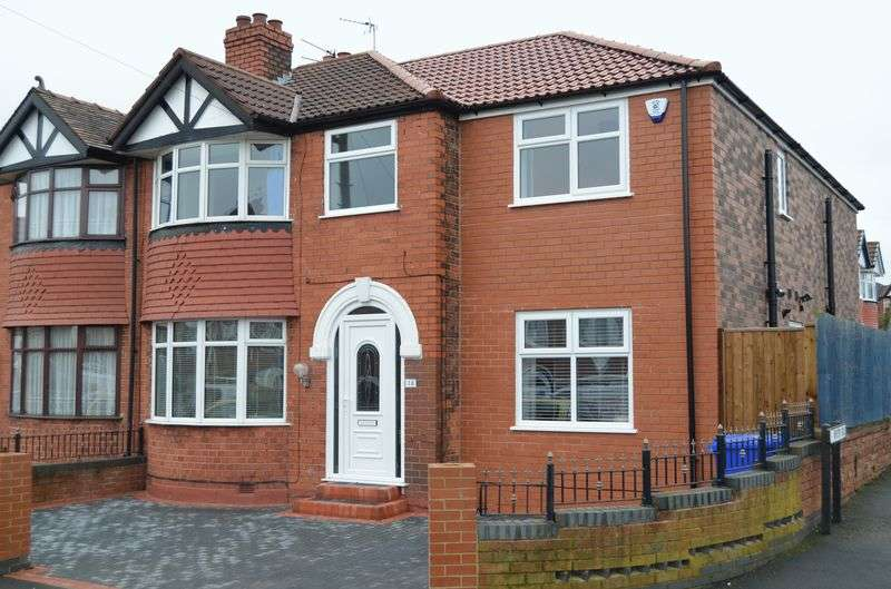 4 Bedrooms Semi Detached House for sale in Hinton Road, Old Runcorn