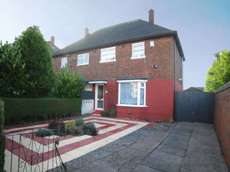 3 Bedrooms Semi Detached House for sale in Ubberley Road, Bentilee, Stoke-On-Trent, ST2 0QS