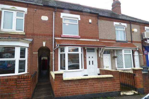 2 Bedrooms Terraced House for sale in Aston Road, Abbey Green, Nuneaton, Warwickshire