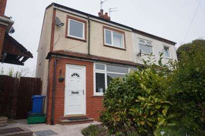 2 Bedrooms Semi Detached House for sale in Crabtree Road, Thornton-Cleveleys, Lancashire, FY5