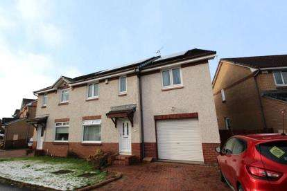 4 Bedrooms Semi Detached House for sale in Forties Crescent, Thornliebank, Glasgow, Lanarkshire