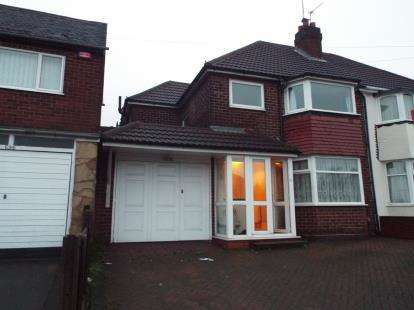 3 Bedrooms Semi Detached House for sale in Walsall Road, Great Barr, Birmingham, West Midlands