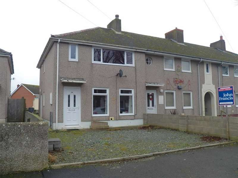 2 Bedrooms End Of Terrace House for sale in Coronation Avenue, Haverfordwest